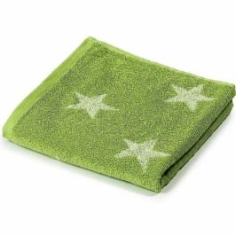 Jahu osuška froté Stars zelená 70x140 cm