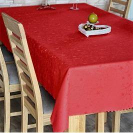 Polášek Ubrus vánoční vínový 120x160 cm