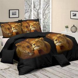 Matějovský povlečení bavlna Lion Love 140x200+70x90 cm