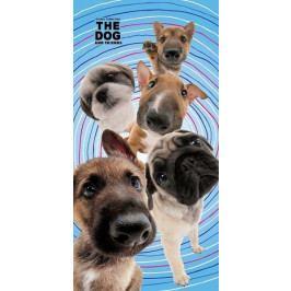 Detexpol osuška The Dog Psí přátelé 70x140 cm