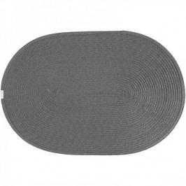 Jahu prostírání ovál šedé 30x45 cm