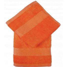 Jahu ručník froté Bamboo Berlin 50x100 cm oranžový