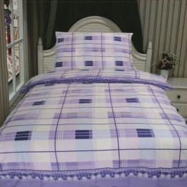Jahu povlečení bavlna Romi 20 fialové 140x200+70x90 cm