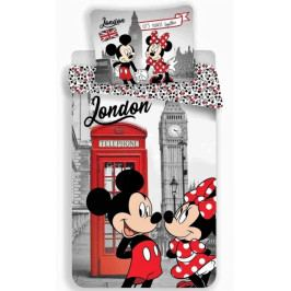 Jerry Fabrics povlečení bavlna MM in London Telephone 140x200+70x90 cm