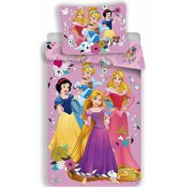 Jerry Fabrics povlečení bavlna Princess pink 02 140x200+70x90 cm