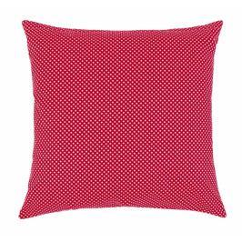 Bellatex polštář dekorační RITA 40x40 cm puntík červenobílý