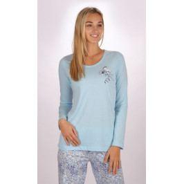 Dámské pyžamo dlouhé Carmen Velikost S, Barva světle lososová