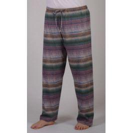 Dámské pyžamové kalhoty Olga Velikost 2XL, Barva mocca