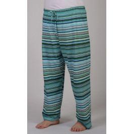 Dámské pyžamové kalhoty Eliza Velikost 2XL, Barva azurová
