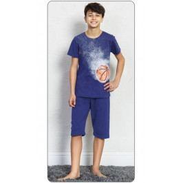 Dětské pyžamo kapri Basketball Velikost 9 - 10, Barva tmavě šedá
