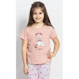 Dětské pyžamo kapri Koťátko Velikost 9 - 10, Barva světle zelená
