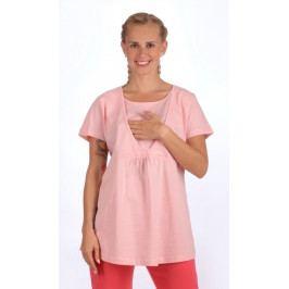 Dámské pyžamo kapri mateřské Marie Velikost S, Barva lososová