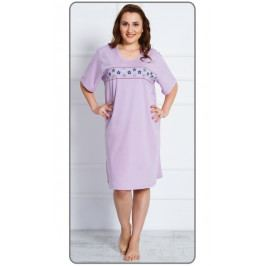 Dámská noční košile s krátkým rukávem Alexandra Velikost 2XL, Barva tyrkysová