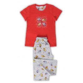 Dětské pyžamo kapri Čmelda Velikost 9 - 10, Barva žlutá