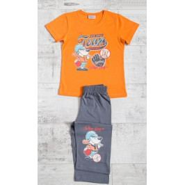 Dětské pyžamo kapri Junior team Velikost 3 - 4, Barva mentolová