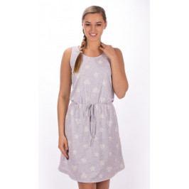 Dámské šaty na ramínka Marie Velikost S, Barva světle šedá