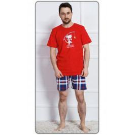 Pánské pyžamo šortky Sleepwalker Velikost 3XL, Barva šedá