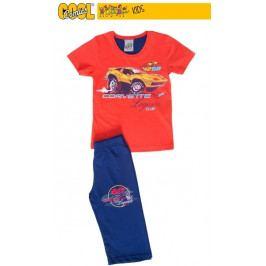 Dětské pyžamo kapri Corvette Velikost 5 - 6, Barva jahodová