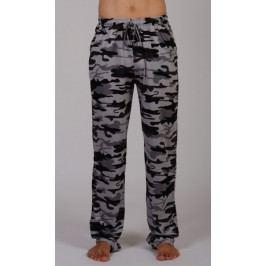 Pánské pyžamové kalhoty Army Velikost 2XL, Barva hnědá