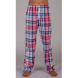 Dětské pyžamové kalhoty Lucie Velikost 3 - 4, Barva lososová