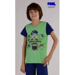 Dětské pyžamo kapri Piráti Velikost 3 - 4, Barva zelená