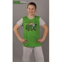 Dětské pyžamo kapri Auto Warriors Velikost 1 - 2, Barva zelená