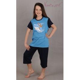 Dětské pyžamo kapri Potápěč  Velikost 3 - 4, Barva tyrkysová