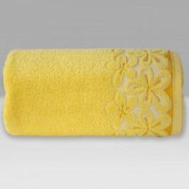 Greno ručník froté Bella 50x90 cm žlutý