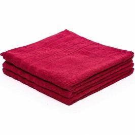 Froté ručník Classic 50x100 cm (450gr/m2) vínový