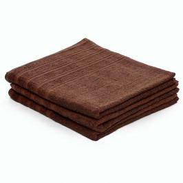 Froté ručník Classic 50x100 cm (450gr/m2) hnědý