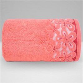 Greno ručník froté Bella 50x90 cm korálová