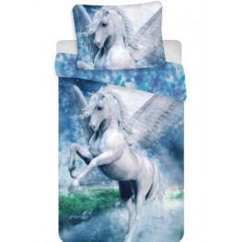 Jerry Fabrics povlečení bavlna fototisk Pegas 140x200+70x90 cm