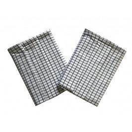 Svitap Utěrka Extra savá Drobná kostka bílo/černá 50x70 cm 3 ks