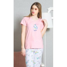 Dámské pyžamo kapri Jednorožec Velikost S, Barva světle tyrkysová