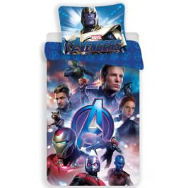 Jerry Fabrics povlečení bavlna Avengers Endgame 140x200 70x90 cm