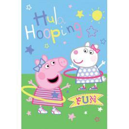 Jerry Fabrics dětská fleecová deka Peppa Pig 100x150 cm