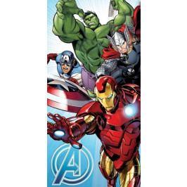 Jerry Fabrics osuška Avengers light blue 70x140 cm