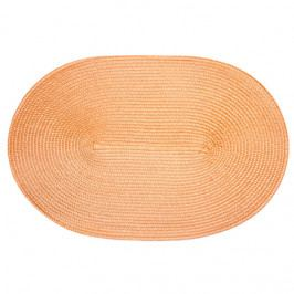 Jahu prostírání ovál světle oranžová 30x45 cm