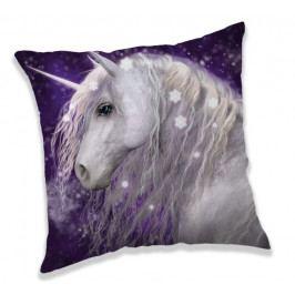 Jerry Fabrics povlak na polštářek Unicorn purple 40x40 cm
