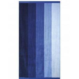 Greno plážová osuška 90x170 cm Blue pruhy