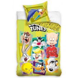 Carbotex dětské povlečení bavlna Looney Tunes 140x200+70x90 cm