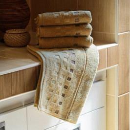 Polášek mikrofroté ručník Zora béžová 50x100 cm