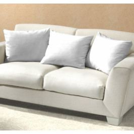 Dadka povlak na polštář jersey Bílý 40x60 cm