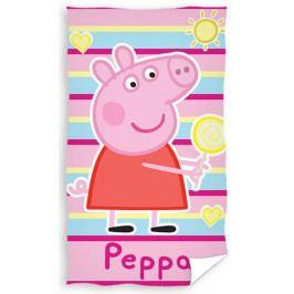 Carbotex dětský froté ručník Peppa Pig 30x50 cm