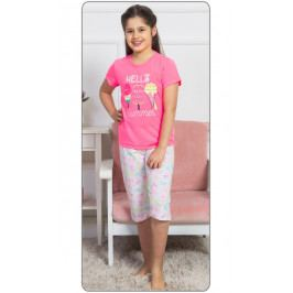 Dětské pyžamo kapri Zmrzlina Velikost 3 - 4, Barva růžová