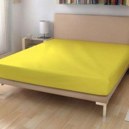 Polášek prostěradlo froté 90x200 cm č.55 žlutá