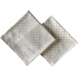 Keprový ručník béžový hladký 50x90 cm