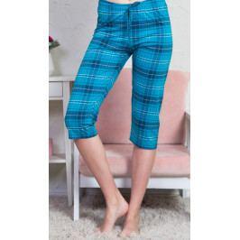 Dámské pyžamové kapri kalhoty Dagmar Velikost S, Barva červená