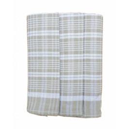 Polášek utěrky z Egyptské bavlny 3ks 50x70 cm  č. 75 béžová