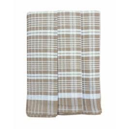 Polášek utěrky z Egyptské bavlny 3ks 50x70cm  č. 78 šedá